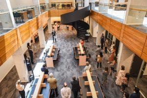 Inauguración extensión Biblioteca Campus Rector Ernesto Silva Bafalluy